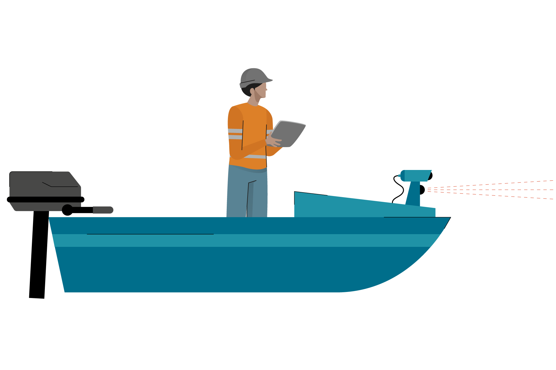 Where exactly is my ship? Accurate dynamic positioning of vessels. animatie